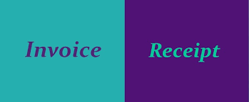 Difference Between Invoice And Receipt Custom Difference Between Invoice And Receipt With Comparison Chart Key