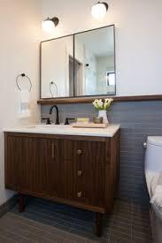 mid century modern bathroom vanity. Mid-century Modern Bathroom, Tile Mid Century Bathroom Vanity
