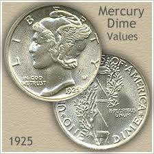 Most 1925 Dime Value Is Silver Worth Zs Mer D1 Shtml