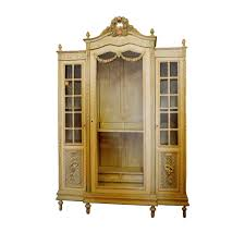 bunch ideas of armoire glass doors best louis xvi style painted armoire with glass door on