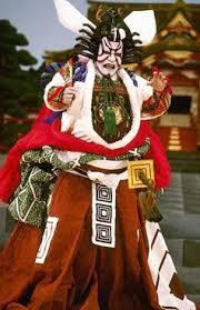 kabuki costume and makeup. costume. like makeup, kabuki costume and makeup