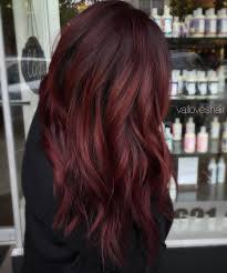 Burgundy Hair Color Over Dark Brown