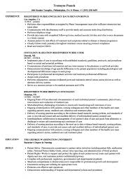 Oncology Rn Resume Oncology Rn Resume Samples Velvet Jobs Oncology Nurse Resume