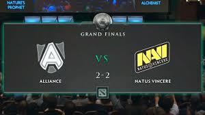 the international 3 grand final game 5 alliance vs na vi