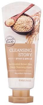 Kwailnara <b>пенка для умывания</b> Cleansing Story Germinated <b>Brown</b> ...