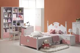 interesting bedroom furniture. soft elegant children bedroom furniture with floral patterned bed and tidy book organizer painted interesting r