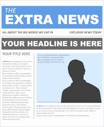 Newspaper Template No Download 35 Beautiful Newsletter Template Free Download Images Popular