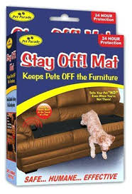 keeping dogs off furniture pet repellent mats sofa scram pad pets sonic keep dogs cats