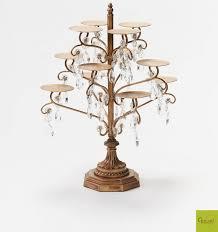ont treasures chandelier 47 piece cupcake stand ont treasures chandelier cupcake stand for