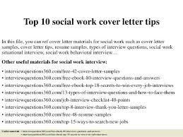 Hospital Social Worker Cover Letter Social Hospital Social Work