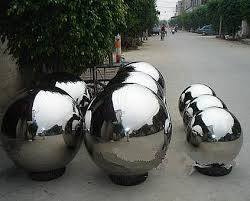 Stainless Steel Decorative Balls Stainless steel oval ballStainless steel eggshaped ballsphere 84