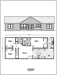 Basement House Plans Designs Ranch Style House Plans Thompson Hill Homes Inc Floor