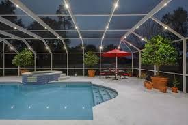 pool cage lighting. Nebula Lighting Systems Rail Light System Pool Cage