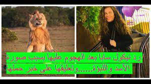 رد نيكول سابا بعد الهجوم عليها بسبب صورة الأسد واللبؤة وتعليقها على خبر  حملها!! - YouTube