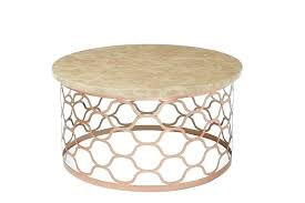 rose gold coffee table white with legs