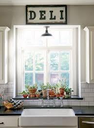 Kitchen Window Sill Ideas