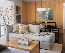 ... Room Transitional with chaise lounge dining area. Image by: Leverone  Design Inc