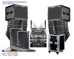 Dàn âm thanh hội trường sân khấu chất lượng cao, chuyên nghiệp dùng loa  Line array