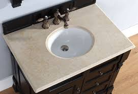 james martin single 36 inch galala beige marble countertop oval sink 2cm thick