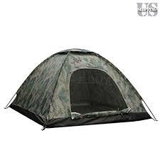 Folding Tent Amazon Com Greenery Outdoor Camping Waterproof 2 Person 4 Season