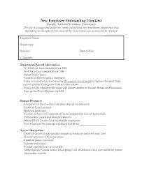 Template Sample New Employee Welcome Email Checklist
