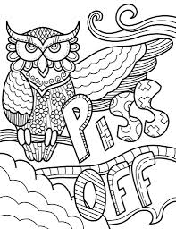 Free Printable Swear Word Coloring Pages Awesome Staggering Download
