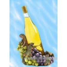 Decorative Wine Bottle Holders Decorative Resin Grape Wine Bottle Holder Les Bricolles de Cleo 21