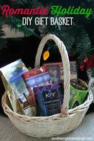 romantic holiday diy gift basket