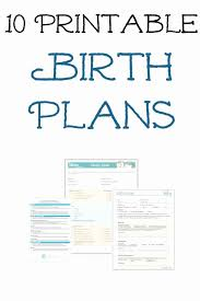 The Bump Birth Plan Printable Birth Plan Template Mathosproject