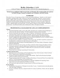 Example Of Social Work Resumes Social Worker Resume Example Template School Work Templates