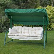garden swing seat cushions uk. 3 seat swing cushion replacement garden cushions uk