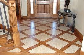 hardwood floor with tile 3
