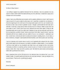 University Appeal Letterappeal Letter Academic Dismissal Enom Warb Best Academic Appeal Letter