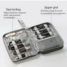 <b>USB</b> Data <b>Cable Earphone</b> Kit <b>Organizer</b> Electronic Accessories ...