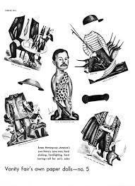 the male impersonator by fintan o toole the new york review of  paper dolls of ernest hemingway from vanity fair 1934