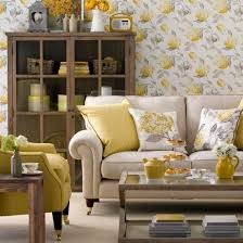 sunny yellow living room mix and match living room schemes photo gallery