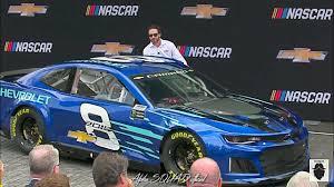 2018 chevrolet nascar race car. unique nascar 2018 chevrolet camaro zl1 nascar cup car unveiled at gm hq detroit michigan inside chevrolet nascar race car c