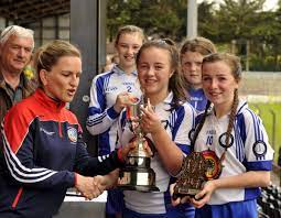 """Sciath na Scol on Twitter: """"Thank you @CorkCamogie PRO Shirley Maloney for  presenting cups at this year's @Allianz Sciath na Scol Finals  @OfficialCamogie… https://t.co/ZNnYU1cwR8"""""""
