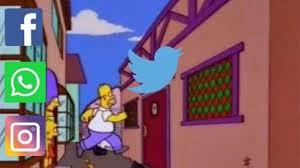 Fallas en redes sociales, vamos a Twitter.