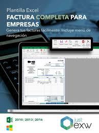 Plantilla De Factura Completa En Excel Plantilla Para