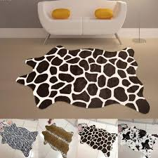 nice leopard african round rugs and leopard rug on laminate wood flooring for unique interior floor