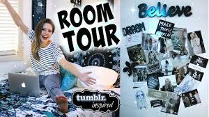 room tour 2015 tumblr inspired room decor youtube