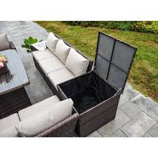 direct wicker beverly 7 piece steel