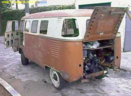 strange barndoor bus owner says it s a 1950 panel i guess someday the rear corner plates are taken from a deluxe when repairing rust or crash damages