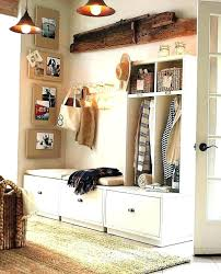 entry way bench mudroom cushion seat coat rack building plans . entry way  ...