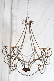exquisite chandelier candle holders iron pillar