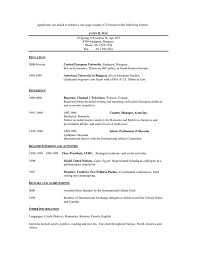 1 or 2 page resume 12 free resume templates