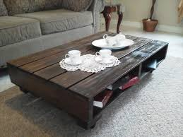 Diy Pallet Living Room Coffee Table Furniture