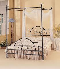 Stylish Metal Canopy Bed Frame