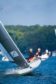The c scow was the first class of scow built by harry c. 51 Scow Sailing Ideas Sailing Boat Dinghy